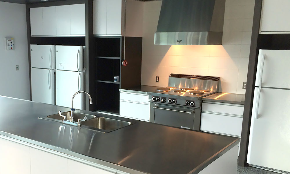 inox cuisine finest meuble cuisine evier inox cuisine design tout inox meubles fond de hotte. Black Bedroom Furniture Sets. Home Design Ideas